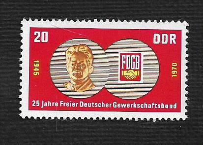 German DDR MNH Scott #1208 Catalog Value $.25