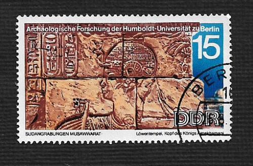Germany DDR Used Scott #1216 Catalog Value $.25