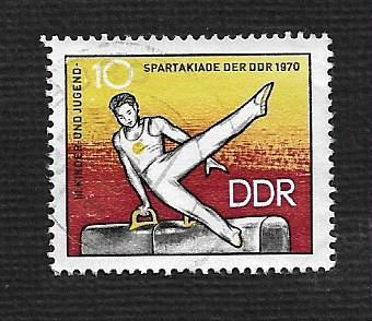 Germany DDR Used Scott #1225 Catalog Value $.25