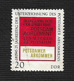 Germany DDR Used Scott #1227 Catalog Value $.25