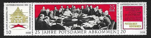 German DDR Hinged NG Scott #1225a Catalog Value $1.35