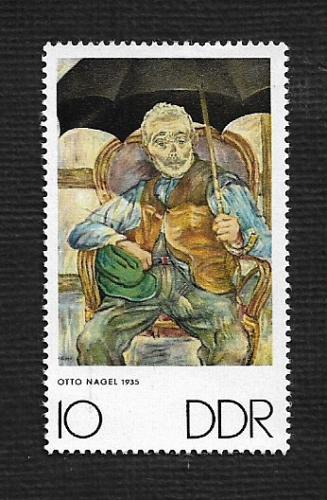 German DDR MNH Scott #1234 Catalog Value $.25