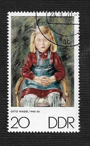 Germany DDR Used Scott #1235 Catalog Value $.25