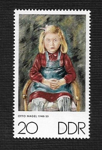 German DDR MNH Scott #1235 Catalog Value $.25