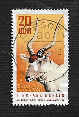 Germany DDR Used Scott #1245 Catalog Value $.30