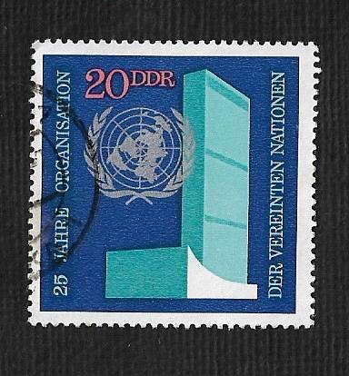 Germany DDR Used Scott #1247 Catalog Value $.25