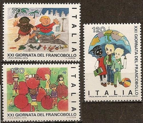 [IT1388] Italy: Sc. no. 1388-1390 (1979) MNH Complete Set