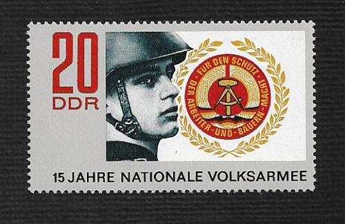 German DDR MNH Scott #1278 Catalog Value $.35