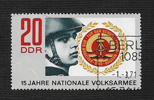 Germany DDR Used Scott #1278 Catalog Value $.25