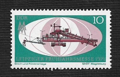 German DDR Hinged Scott #1279 Catalog Value $.25