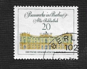 Germany DDR Used Scott #1289 Catalog Value $.25
