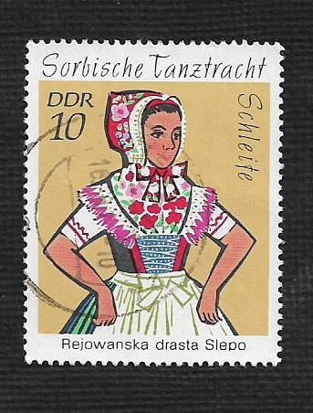 Germany DDR Used Scott #1294 Catalog Value $.25