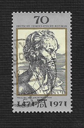 Germany DDR Used Scott #1300 Catalog Value $.65