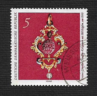 Germany DDR Used Scott #1306 Catalog Value $.25