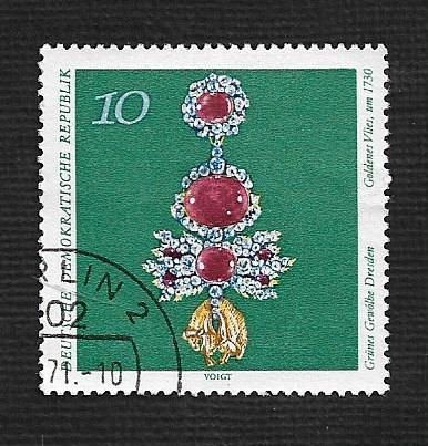 Germany DDR Used Scott #1307 Catalog Value $.25