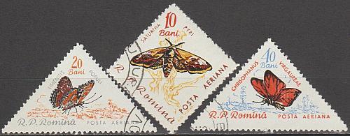 [ROC089] Romania: Sc. no. C89-C90 (1960) CTO