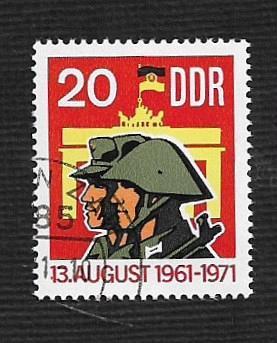 Germany DDR Used Scott #1316 Catalog Value $.25