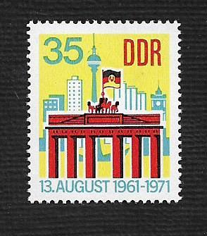 German DDR Hinged Scott #1317 Catalog Value $1.20