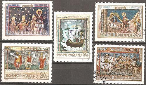 [RO2142] Romania: Sc. no. 2142-2146 (1969) CTO