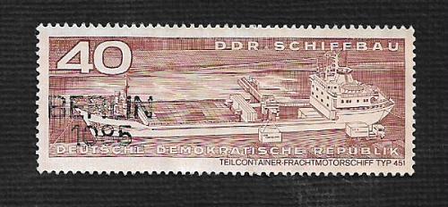 Germany DDR Used Scott #1322 Catalog Value $.25
