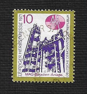 Germany DDR Used Scott #1324 Catalog Value $.25