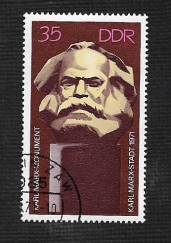 Germany DDR Used Scott #1327 Catalog Value $.25