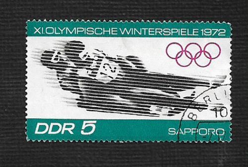 Germany DDR Used Scott #1345 Catalog Value $.25
