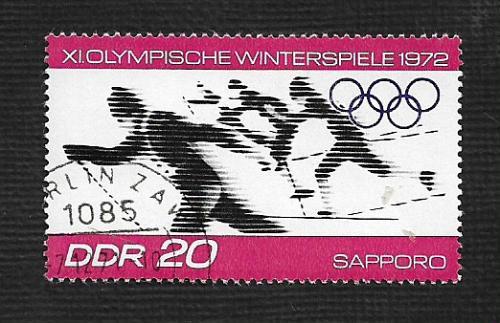 Germany DDR Used Scott #1346 Catalog Value $.25