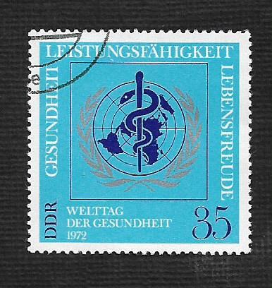 Germany DDR Used Scott #1365 Catalog Value $.25