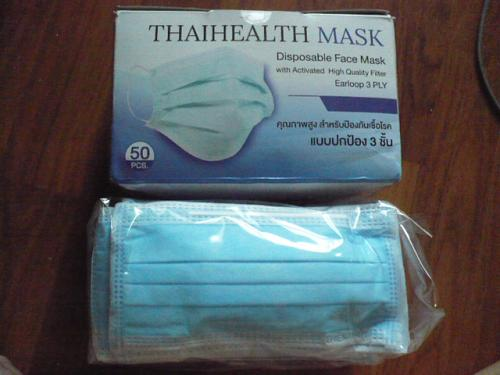 25 pcs new Face Mask, activated high quality filter earloop 3 Ply, with certificate