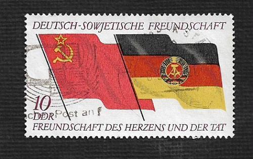 Germany DDR Used Scott #1373 Catalog Value $.65