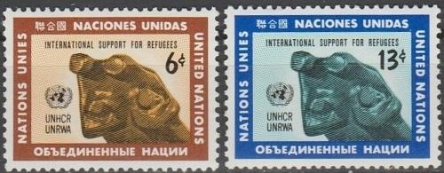[UN0216] UN NY: Sc. No. 216-217 (1971) MNH Full Set