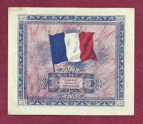 France 10 Francs 1944 Banknote No 58246634 Allied Military Currency (AMC) - UNC
