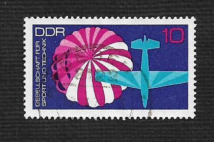 Germany DDR Used Scott #1389 Catalog Value $.25
