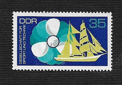 German DDR Hinged NG Scott #1392 Catalog Value $.25