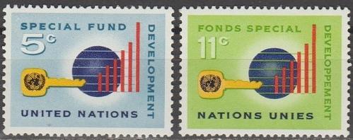 [UN0137] UN NY: Sc. No. 137-138 (1965) MNH Full Set