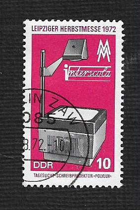 Germany DDR Used Scott #1394 Catalog Value $.25