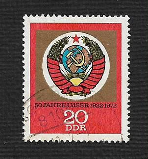 Germany DDR Used Scott #1424 Catalog Value $.25
