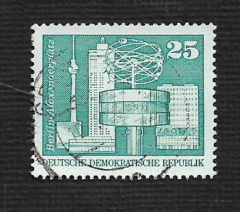 Germany DDR Used Scott #1434 Catalog Value $.25