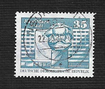Germany DDR Used Scott #1436 Catalog Value $.30