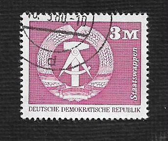 Germany DDR Used Scott #1443A Catalog Value $.80