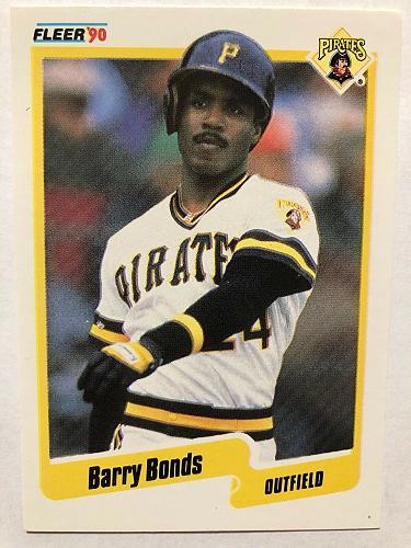 1990 FLEER-Barry Bonds#461-Pirates