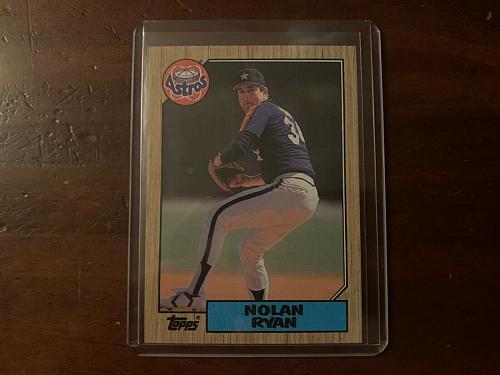 1987 Topps Nolan Ryan #757