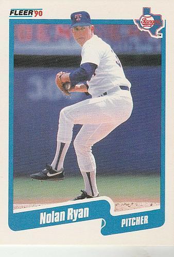 MINT-1990 Fleer Nolan Ryan Texas Rangers #313