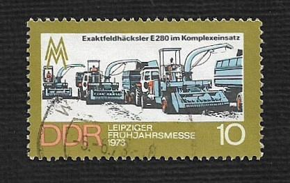 Germany DDR Used Scott #1451 Catalog Value $.25