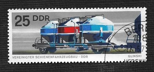 Germany DDR Used Scott #1465 Catalog Value $.25