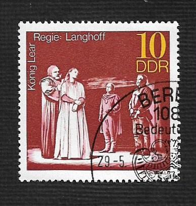 Germany DDR Used Scott #1468 Catalog Value $.25