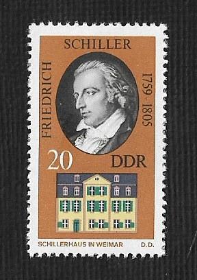 German DDR Hinged Scott #1473 Catalog Value $.25