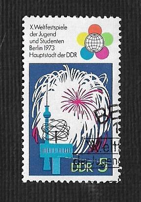 Germany DDR Used Scott #1477 Catalog Value $.25