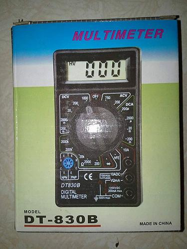 AC/DC Ammeter Voltmeter Ohm Electrical Digital Multimeter